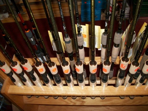 Fenwick Rods - GT, HMX, HMG, Aetos, - a local favorite brand - good rods!