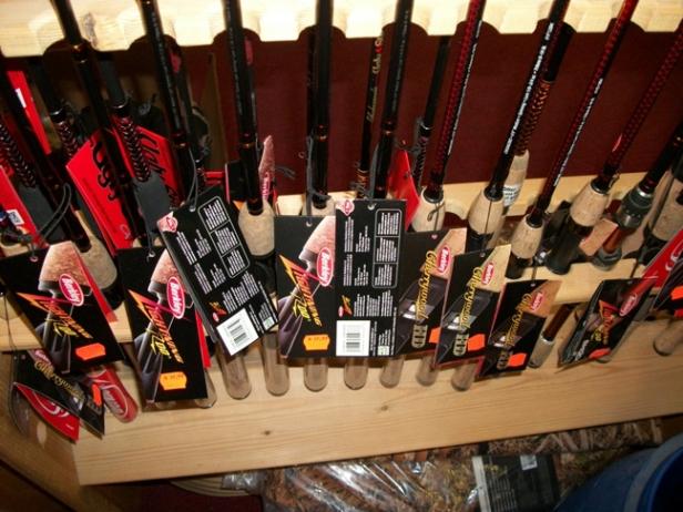 Berkley Lightning Rods, Cherrywoods...