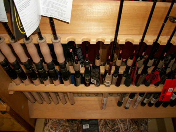 Ugly Sticks,  Mitchell Lead Core rods, Shakespeare, etc.