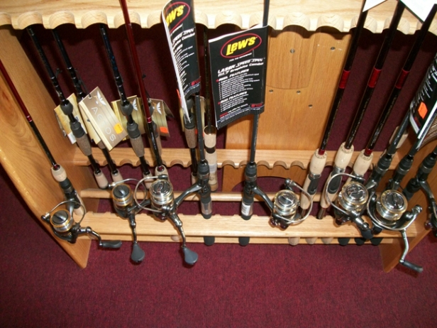 Lew's Rpd Combos - We got into these last season and were so impressed that we came back for another year.  Nice gear, well made, works well, and customers willing to try something new, come back to buy more!