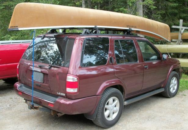canoe car topping