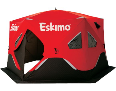 Eskimo® Fatfish 6120i Six-Sided Ice Shelter