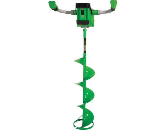 """ION 8"""" lithium battery powered ice auger with reverse"""