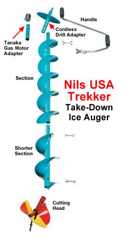 Nils Trekker Ice Auger