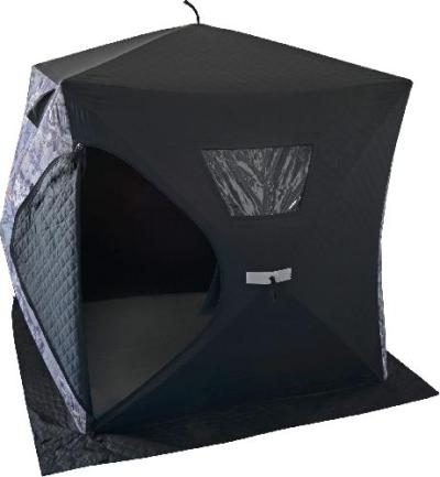 Thermal vs. non-thermal ice fishing shelters