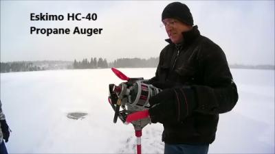Eskimo HC-40 Propane Ice Auger