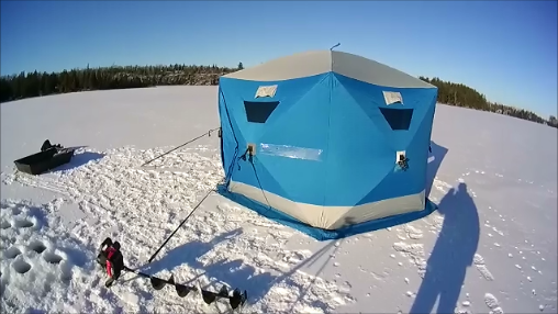 Clam 1660 Mag Thermal Ice Shelter