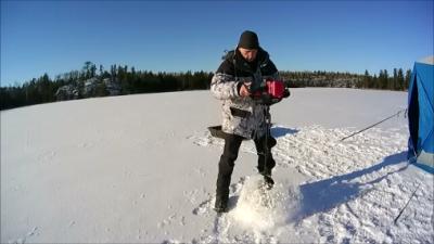 Strikemaster Lithium Lazer 50 Volt Ice Auger