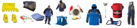 Ice fishing gear red rock outdoor gear for Fishing tackle closeouts