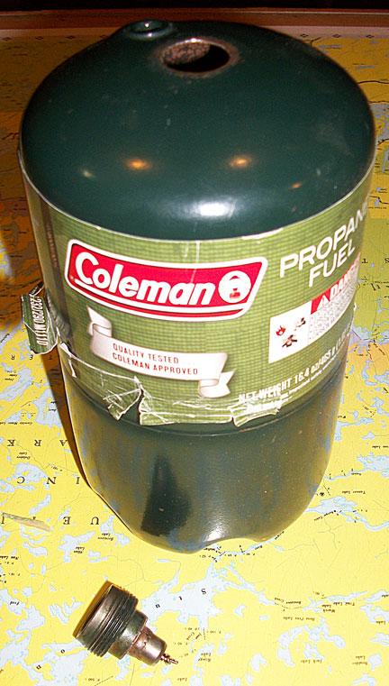 Blown Propane Cylinder