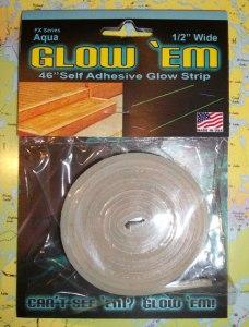 Glow 'em adhesive strips