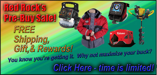 ice Fishing Sale