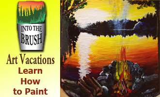 Into the Brush Art Program & Art Retreats