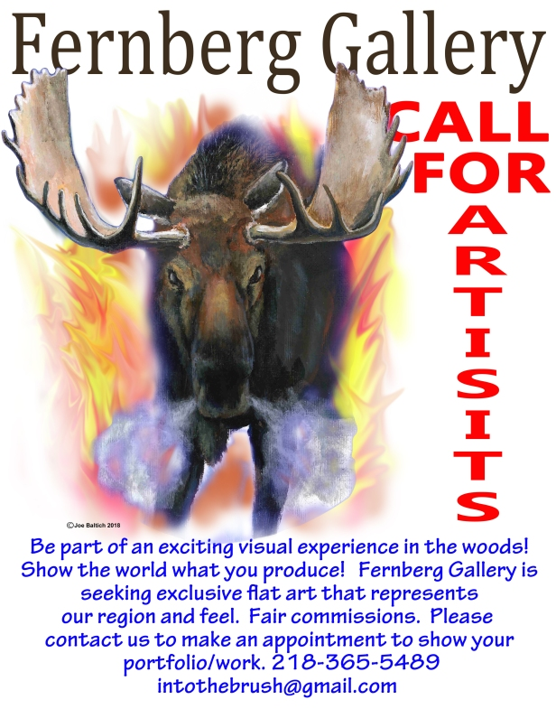 Calling for Artists for the Fernberg Gallery